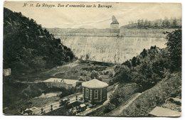 CPA - Carte Postale - Belgique - La Gileppe - Vue D'Ensemble Sur Le Barrage - 1907 (B9005) - Gileppe (Barrage)