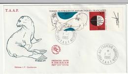 FDC - TAAF - PA N°89   (1985) - FDC