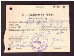 Quittung Vom Kauf Einer Volksgasmaske Von 1940 - 1939-45