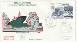 FDC - TAAF - PA N°98   (1987) - FDC