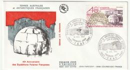 FDC - TAAF - PA N°102   (1988) - FDC