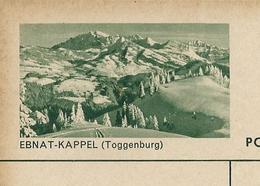 Carte Illustré Neuve N°  182 -  0114 B  EBNAT - KAPPEL (Toggenburg) (Zumstein 2009) - Entiers Postaux