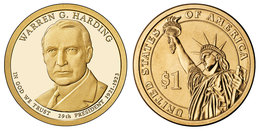 USA, Warren G.Harding, 2014, 1 $ - EDICIONES FEDERALES