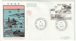 FDC - TAAF - PA N°104   (1989) - FDC