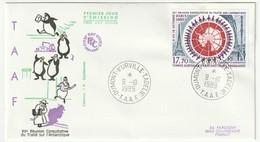 FDC - TAAF - PA N°109   (1989) - FDC