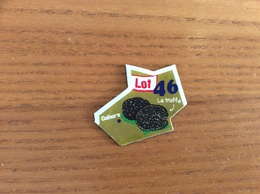 """Magnet Département Le Gaulois """"46 Lot"""" (La Truffe) Vert - Magnets"""