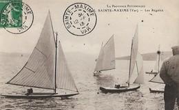 83   SAINTE - MAXIME  :  LES  REGATES  . - Sainte-Maxime