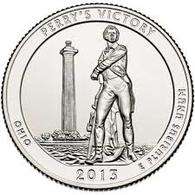 USA, 2013 Perrys Victory, 25 C Coin - 2010-...: National Parks