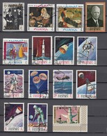 (01) Fudschaira/Fujairah/Fujeira - 30 Used Stamps, From The Years 1966-1970 - See 2 Scans - Fudschaira