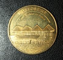 """Médaille Touristique """"Muséoseine / Caux Vallée De Seine / Caudebec-en-Caux"""" - Touristiques"""