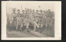 Carte Photo Soldats Du 4ème Régiment  D'Infanterie - Non Circulée - Uniformes