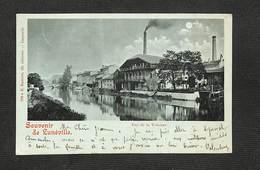 54 - LUNÉVILLE - Souvenir De Lunéville - Vue De La Vezouze - 1901 - Luneville