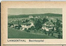 Carte Illustré Neuve N°  182  - 0212 B  LANGENTHAL  Bezirksspital (Zumstein 2009) - Stamped Stationery