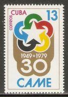 1979 Mi# 2426 ** MNH - Council For Mutual Economic Assistance, 30th Anniv. - Nuevos