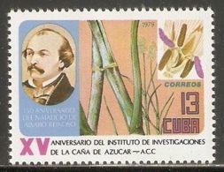 1979 Mi# 2438 ** MNH - Reinoso / Sugar Cane And Blossom - Nuevos