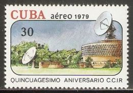 1979 Mi# 2447 ** MNH - Intl. Radio Consultative Committee (CCIR), 50th Anniv. / Ground Receiving Station - Nuevos