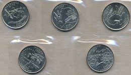 USA, 2006 State & Territory Quarters Yearset - Federal Issues