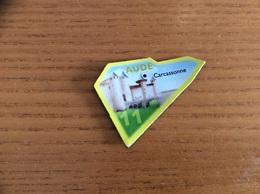 """Magnet * Serie Le Gaulois Département Français """"11 AUDE"""" (Château, Remparts Carcassonne) - Magnets"""