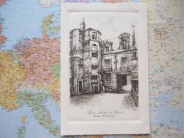 La Tour Du Prévot Passage Charlemagne Gravure De L.Robin 1904 - France