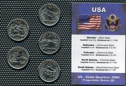 USA, 2006-D, State & Territory Quarters Yearset - EDICIONES FEDERALES
