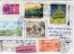 France: Lettre Chargée De 1985 Pour La Belgique,retournée à L'envoyeur. - Autres