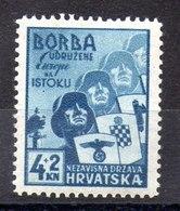 Serie De Croacia N ºYvert 49 ** - Croacia