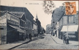 LES LILAS  La Rue De L'avenir  Commerce Triperie - Les Lilas