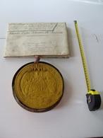Brevet Royal Britannique (letters Patent) De Matériel Ferroviaire - Historical Documents
