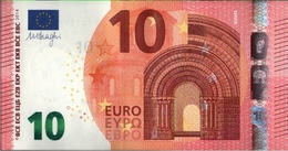 ! 10 Euro Currency, Money, Banknote F002G4, Draghi, EZB, ECB - EURO