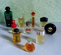 Lot De 10  Miniatures De Parfum De Différents Parfumeurs Sans Boites (lot 1-76) - Unclassified