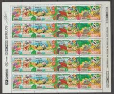 BRASIL  **   MNH   1992  YVERT   2074/77   TURMA  DA  MONICA   20  SELLOS - Brazil