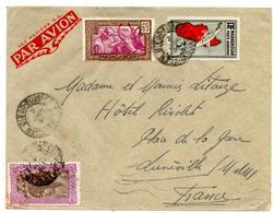 Lettre Par Avion De Diego Suarez (2.06.1939) Pour Luneville - Madagascar (1889-1960)