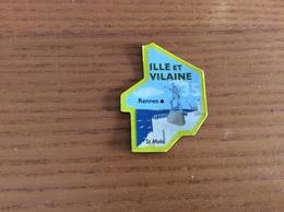 """Magnet ** Serie Le Gaulois Département Français """"35 ILLE ET VILAINE"""" - Magnets"""