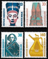 Série De 4 T.-P. Gommés Neufs** - Curiosités Type Des T.-P. De 1988 - N° 1230-1231-1232-1233 (Yvert) - RFA 1989 - [7] Federal Republic
