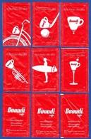 Buondi Cafés, Portugal 2019 - Tira Mais Do Dia / Série Complète 6 Sachets Vides - Suiker