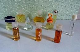 Lot De 10  Miniatures De Parfum De Différents Parfumeurs Sans Boites (lot 2-76) - Unclassified