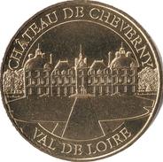 41 LOIR ET CHER CHEVERNY LE CHÂTEAU N°2 MÉDAILLE MONNAIE DE PARIS 2019 JETON TOKEN MEDALS COINS - 2019