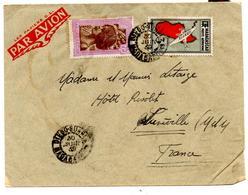Lettre Par Avion De Diego Suarez (30.06.1939) Pour Luneville - Madagascar (1889-1960)