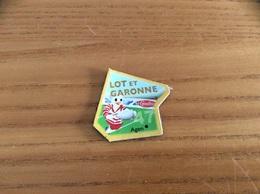 """Magnet ** Serie Le Gaulois Département Français """"47 LOT ET GARONNE"""" (rugby) - Magnets"""