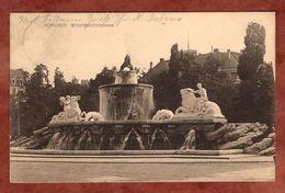 Muenchen, Wittelsbachbrunnen, Wappen, Nach Hannover 1908 (75323) - München