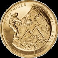 Poland, 2 Zloty, 2009,100th Anniversary Of The Establishment Of The Voluntary Tatra Mountains Rescue Service - Polonia