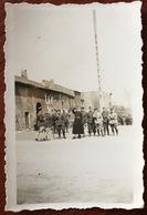 Militaria. Militaires. Soldats. Concours D'attelage à Aumetz. Avril 1940. - Guerre, Militaire