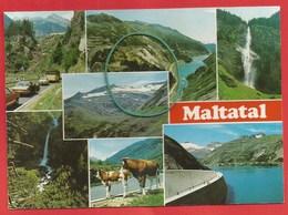 Maltatal, Kärnten, Malta - Hochalmstraße Zur Kölnbreinsperre - Österreich