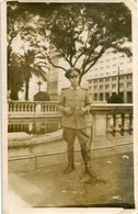 HOMME MILITAIRE, MILITARY MAN, HOMBRE MILITAR. PHOTO FOTO YEAR 1945 SIZE: 9X14CM - LILHU - Personas Anónimos