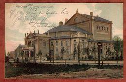 Muenchen, Prinzregenten-Theater, Wappen, Nach Hannover 1903 (75324) - München