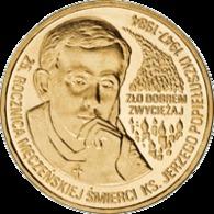 Poland, 2 Zloty, 2009, 25th Anniversary Of The Death Of Father Jerzy Popiełuszko - Polonia