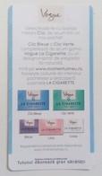 ROMANIA-CIGARETTES  CARD,NOT GOOD SHAPE,0.93 X 0.48 CM - Tabac (objets Liés)