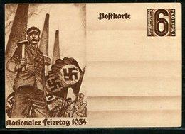 """Deutsches Reich / 1934 / Sonderpostkarte """"1. Mai"""" ** (18288) - Allemagne"""