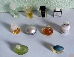 Lot De 10  Miniatures De Parfum De Différents Parfumeurs Sans Boites (lot 4-76) - Unclassified