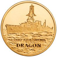 "Poland, Polish Ships – ""Dragon"" Light Cruiser, 2012, 2 Zloty - Polonia"
